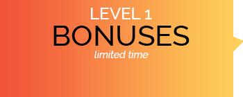 LEVEL 1 Bonuses