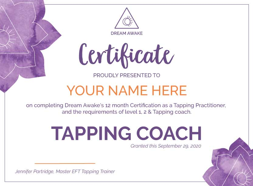 Tapping Coach