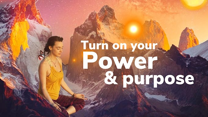 turn on your power and purpose